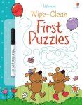 Usborne Wipe-Clean: First Puzzles