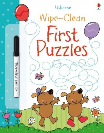 Usborne Wipe-Clean: First Puzzles