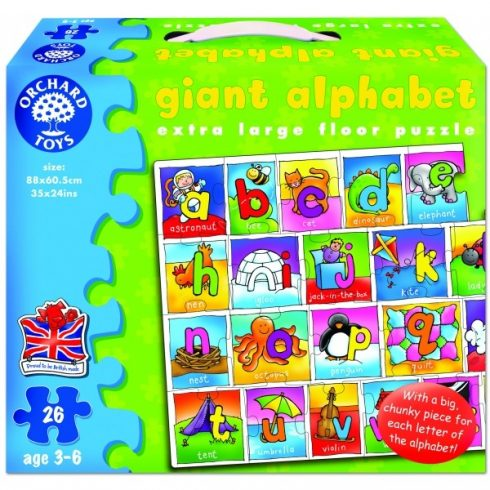 Óriási ABC ORCHARD 282 (Giant Alphabet)