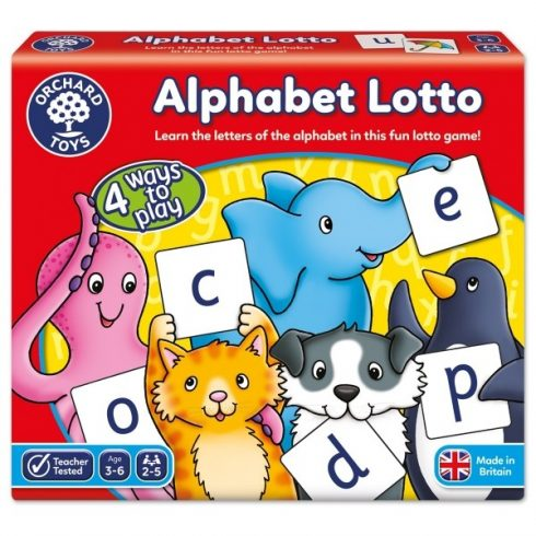 ABC lottójáték (Alphabet Lotto) ORCHARD TOYS