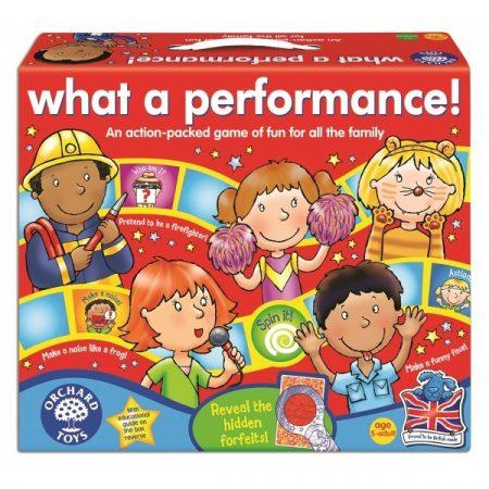 OR047 Micsoda elõadás! (What a Performance!) Orchard Toys 047