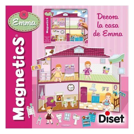 Emma háza - mágneses játék   +3