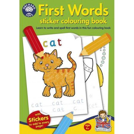 Színezõkönyv - elsõ angol szavaim (First Words Colouring Book)