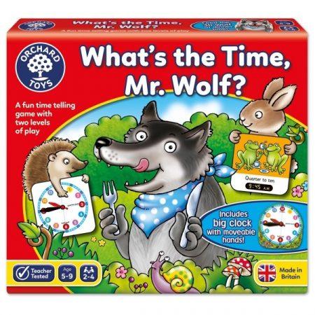 What's the Time, Mr. Wolf? Hány óra van, Farkas koma?