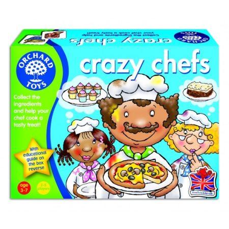 Bolondos szakácsok (Crazy Chefs) Orchard Toys OR017