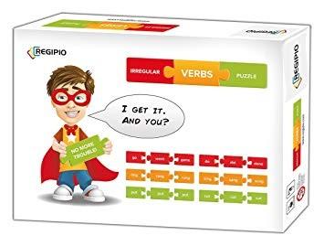 Irregular Verbs Puzzle