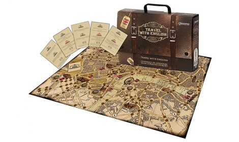 Travel with English Boardgame