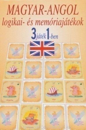 Magyar-angol logikai- és memóriajátékok - 3 játék 1-ben