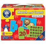 Match and count  ORCHARD  (Számlálj és párosíts)