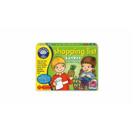 Bevásárlólista kiegészítő - Gyümölcsök, zöldségek - Orchard Toys OR090