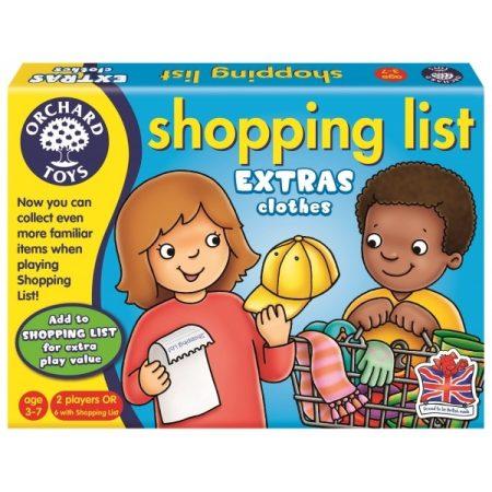 Bevásárlólista kiegészítő - Ruhaneműk Orchard Toys 091
