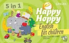 Happy Hoppy Nyelvtanító Társasjáték (5 In 1)