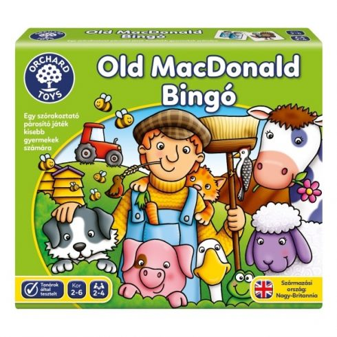 Old MacDonald Lotto ORCHARD TOYS  2+