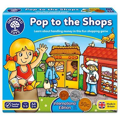 Euros bevásárlás - Pop to the shops Orchard Toys OR505
