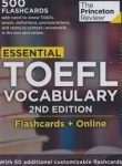 Essential TOEFL Vocabulary (Flashcards)