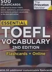 Essential TOEFL Vocabulary (Flashcards)