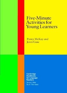 Five Minute Activities For Young Learners - Jenni Guse