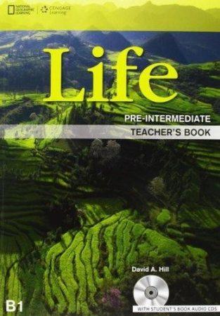 LIFE Pre-intermediate Teacher's Book with Class audio CDs (2)