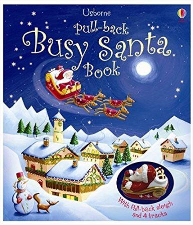 Pull-back Busy Santa