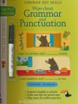 Wipe-Clean Grammar and Punctuation (Usborne Key Skills) Age 6 to 7