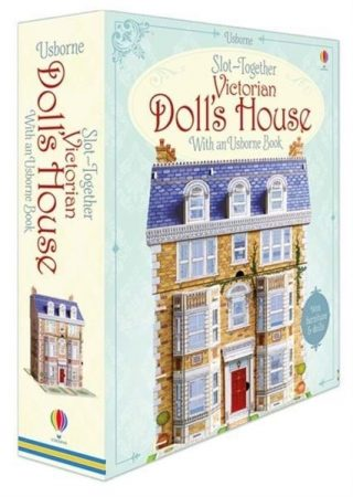 Slot-together Victorian doll's house