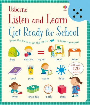 Usborne Listen and Learn: Get Ready for School