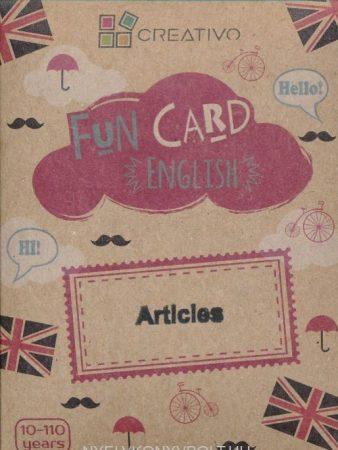 Fun Card English: Articles