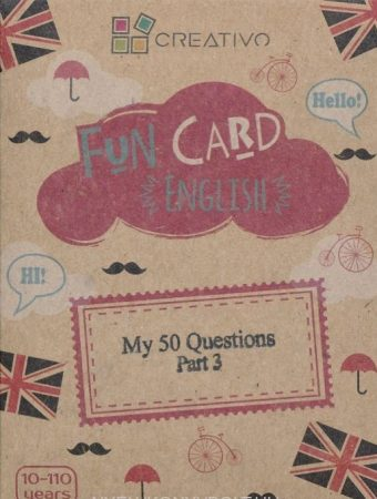 Fun Card English: My 50 Questions part 3