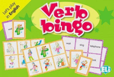 Verb Bingo - Let's Play in English