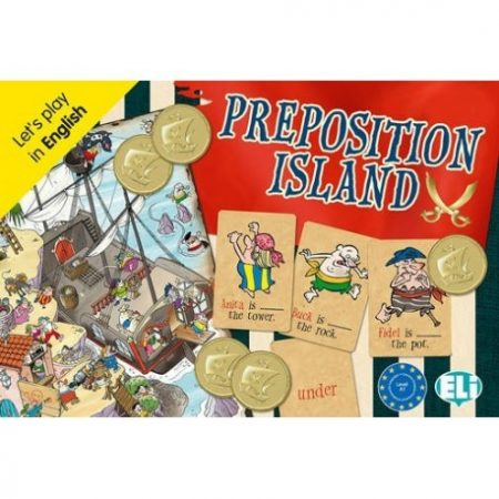 Preposition Island - Let's play in English