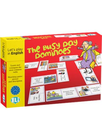 Busy Day Dominoes - Let's Play in English