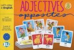 Adjectives and Opposites - Let's play in English