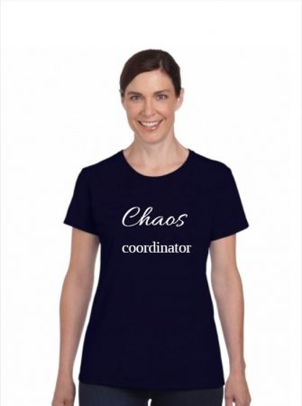 Feliratos póló-Chaos coordinator