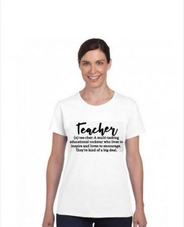 TEACHER ( n ) tee-cher: A muli-tasking educational rock-star who lives to inspire and loves to encourage. They're kind of a big deal.