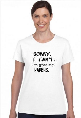 Sorry, I can't. I'm grading papers