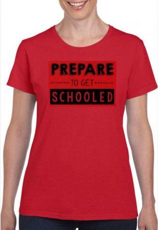 Prepare to get schooled