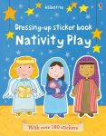 Dressing up sticker book: Nativity play- Karácsonyi matricás könyv