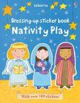 Dressing up sticker book: Nativity play- Karácsonyi matricás könyv